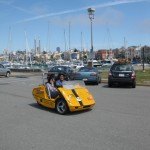 ... a GoCar - a great way to take in all of SF's attraction. Look out Mr Bean!   gocartours.com